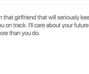 future, girlfriend, and qoute image