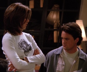 chandler bing, style, and tow image