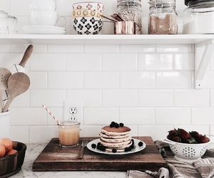 food, kitchen, and breakfast image