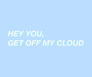 aesthetic, baby blue, and clouds image