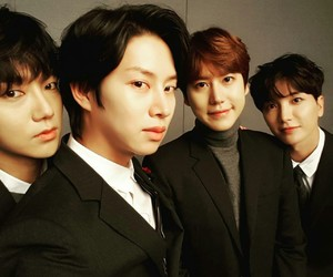 kyuhyun, Leeteuk, and super junior image