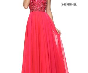 beads chiffon dress