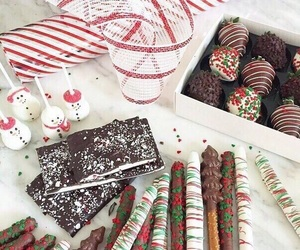 chocolate, christmas, and new year image