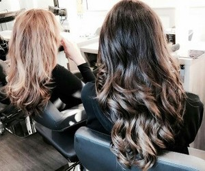 Beautiful Girls, brunettes, and hair color image