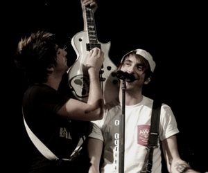 alex gaskarth, all time low, and jack barakat image