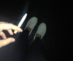 cigarette, edgy, and teens image