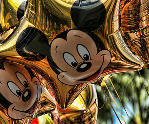disney, balão, and mickey image