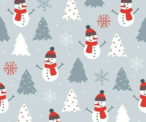 background, christmas, and snow image