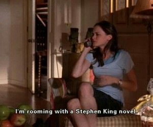 alexis bledel, Stephen King, and college image