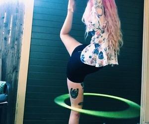 girl, tattoo, and hooper image