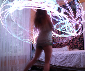 hooper, hula hoop, and magic image