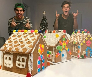 christmas is coming, cameron dallas, and christian delgrosso image