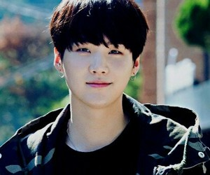 asian, suga, and boy image