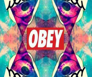 dope, obey, and mickey mouse image