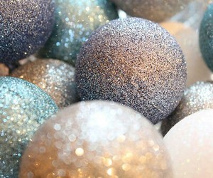 christmas, winter, and glitter image
