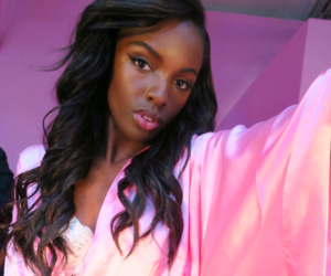 angel, fashion, and leomie anderson image