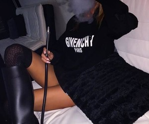 Givenchy, outfit, and smoke image