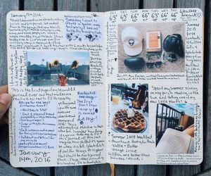 journal, art, and goals image