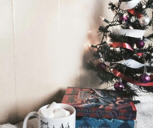 harry potter, book, and christmas image