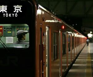 japan, tokyo, and train image