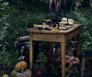 candle, witch, and magic image