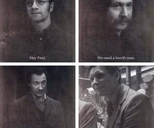 sirius black, remus lupin, and fred weasley image