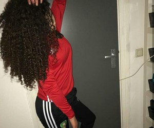 curly hair, girl, and morocco image