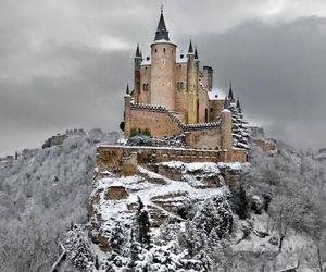 amazing, snow, and castle image