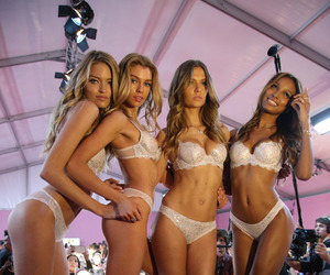 angels, fashion, and Victoria's Secret image