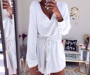 fashion, jumpsuit, and outfit image