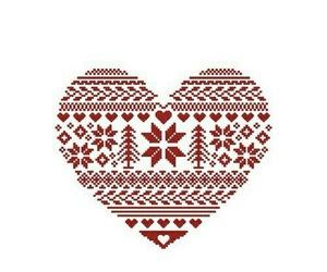 heart, christmas, and wallpaper image