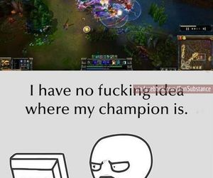funny, lol, and league of legends image