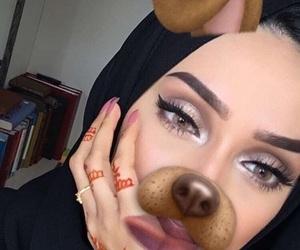 beauty, eye, and islam image