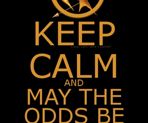 hunger games, keep calm, and katniss image