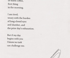 coffee, morning, and words image