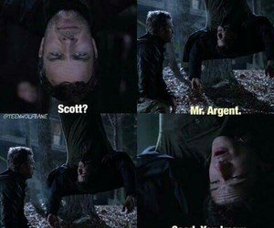funny, scott mcall, and teen wolf image