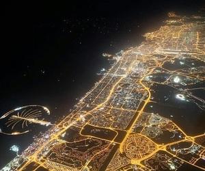 Dubai and night image