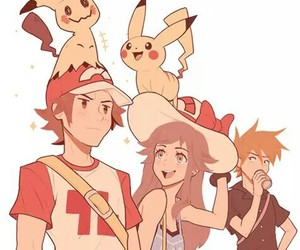 pikachu, pokemon, and mimikyu image