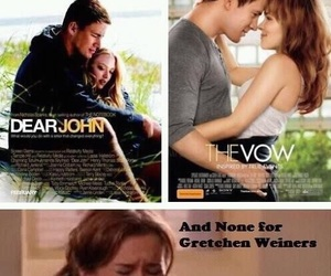 mean girls, the vow, and dear john image