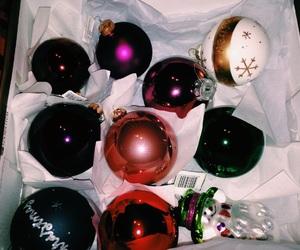 ball, christmas, and decoration image