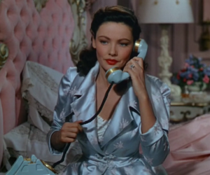 vintage, Gene Tierney, and movie image