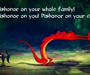 disney, mulan, and mushu image