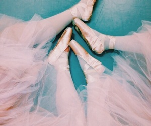 pink, dance, and ballet image