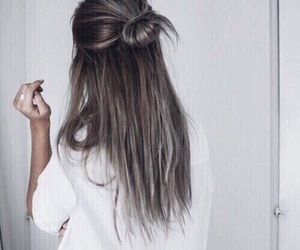 bianco, capelli, and hair image