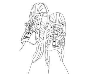 outlines and shoes image