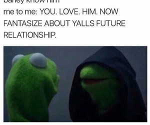 funny, kermit, and Relationship image