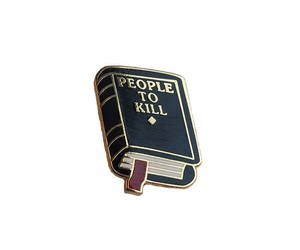 pins, book, and aesthetic image