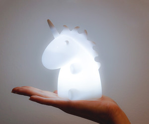 unicorn, cute, and light image