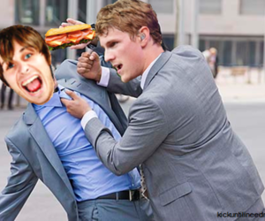eat, funny, and mark foster image