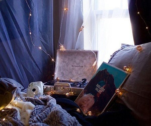 lights, room, and vintage image